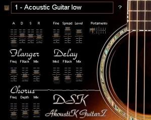 Descarga DSK Music AkoustiK GuitarZ y añade algunas guitarras realistas a tus temas