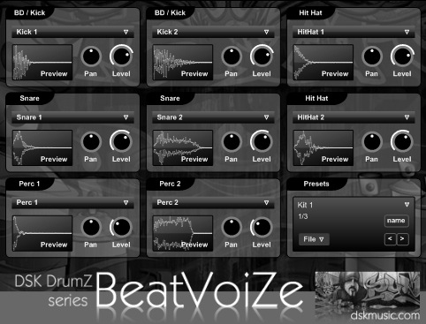 FREE VST download DSK DrumZ BeatVoiZe : DSK Music