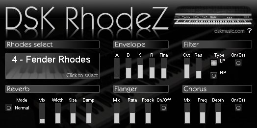 FREE VST download DSK RhodeZ : DSK Music