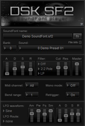 FREE VST download DSK SF2 : DSK Music